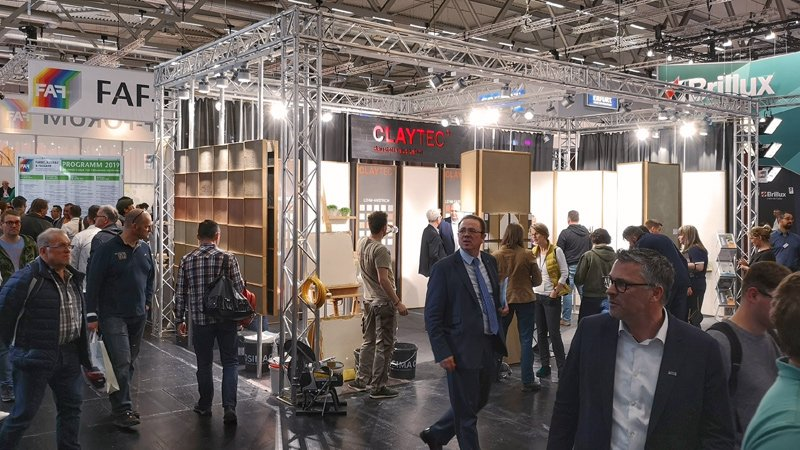 CLAYTEC Messestand | © CLAYTEC