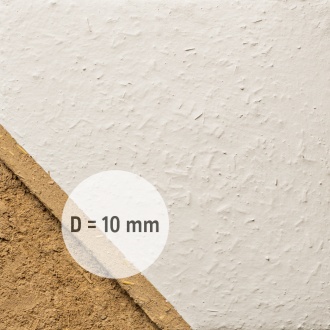 clay topcoat plaster coarse with straw