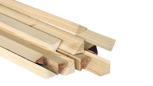 Triangular battens