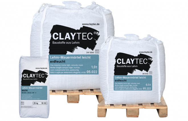 Lightweight clay masonry mortar